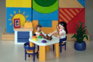 Praxissituation mit Playmobil